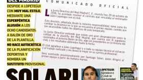 Portada MARCA (30/10/2018)