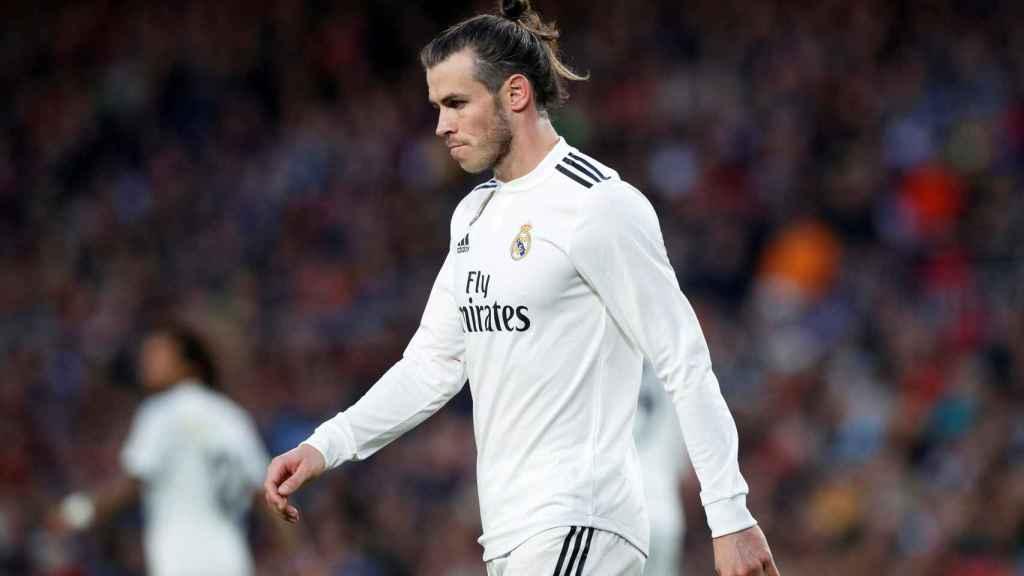 Gareth Bale, en El Clásico del pasado domingo.