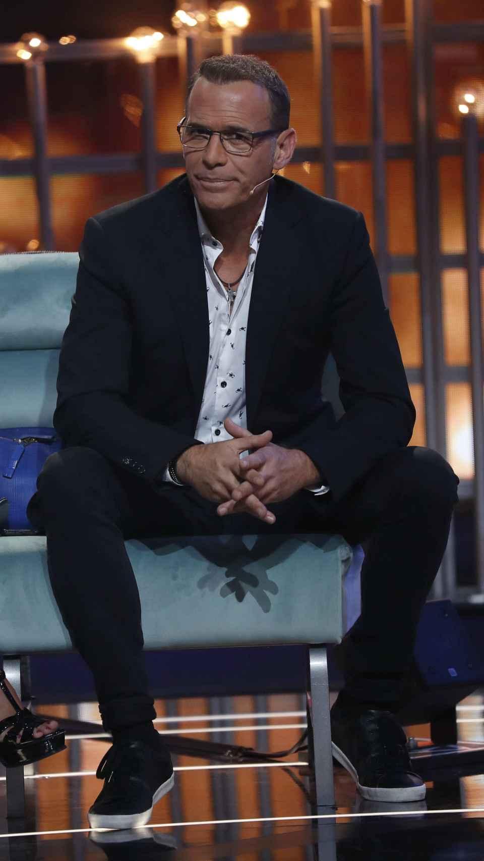 Carlos Lozano durante el programa en una imagen de archivo.