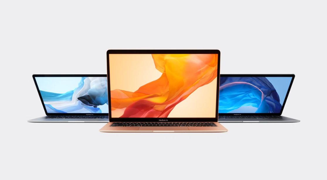 colores macbook air 2018
