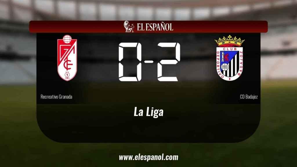 El Badajoz se lleva tres puntos a casa