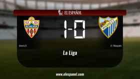 El Almería B derrotó al At. Malagueño por 1-0
