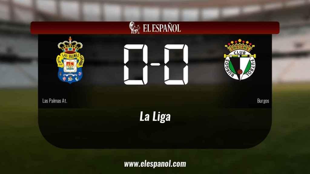 Las Palmas At. y el Burgos sólo sumaron un punto (0-0)