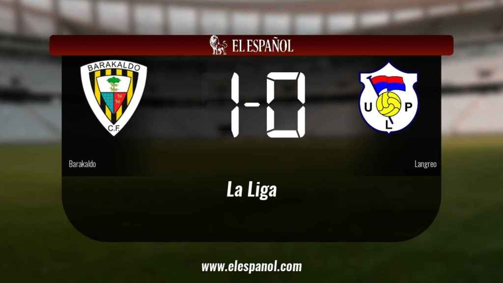 Triunfo del Barakaldo por 1-0 ante el Langreo