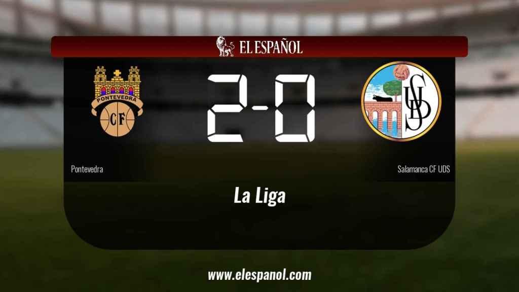 Los tres puntos se quedaron en casa: Pontevedra 2-0 Salamanca UDS