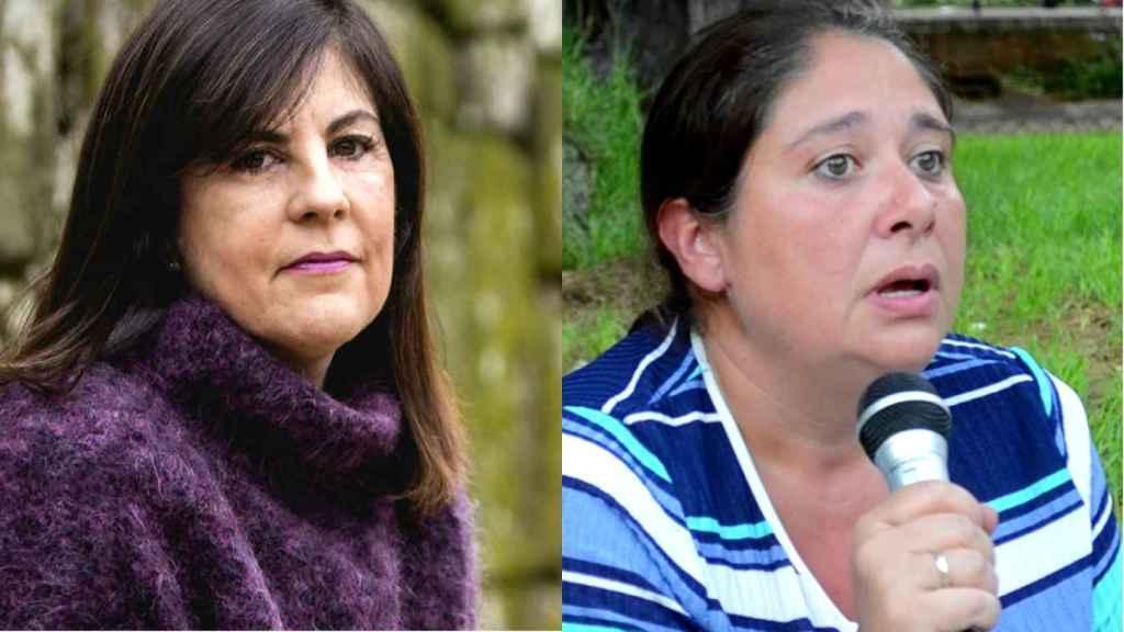Gloria Lago y Marisol Legaz, presidenta y vicepresidenta de la Asociación Hablamos Español.