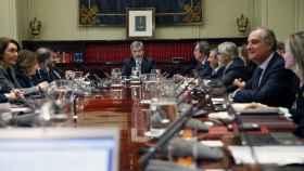 Reunión del pleno del Consejo General del Poder Judicial./