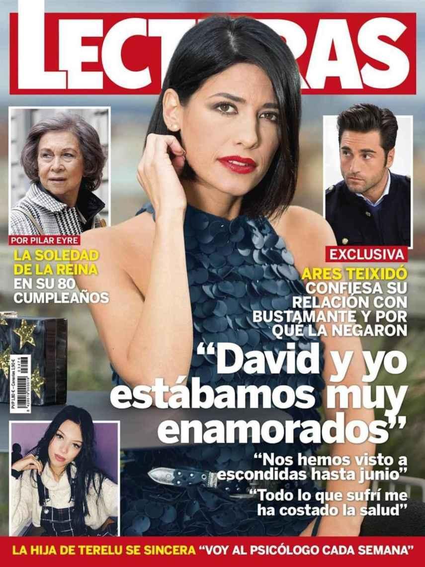 Ares en la portada de 'Lecturas'.