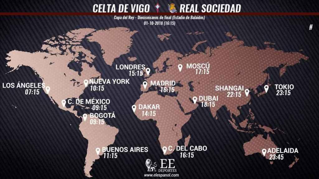 Horario Celta-Real Sociedad