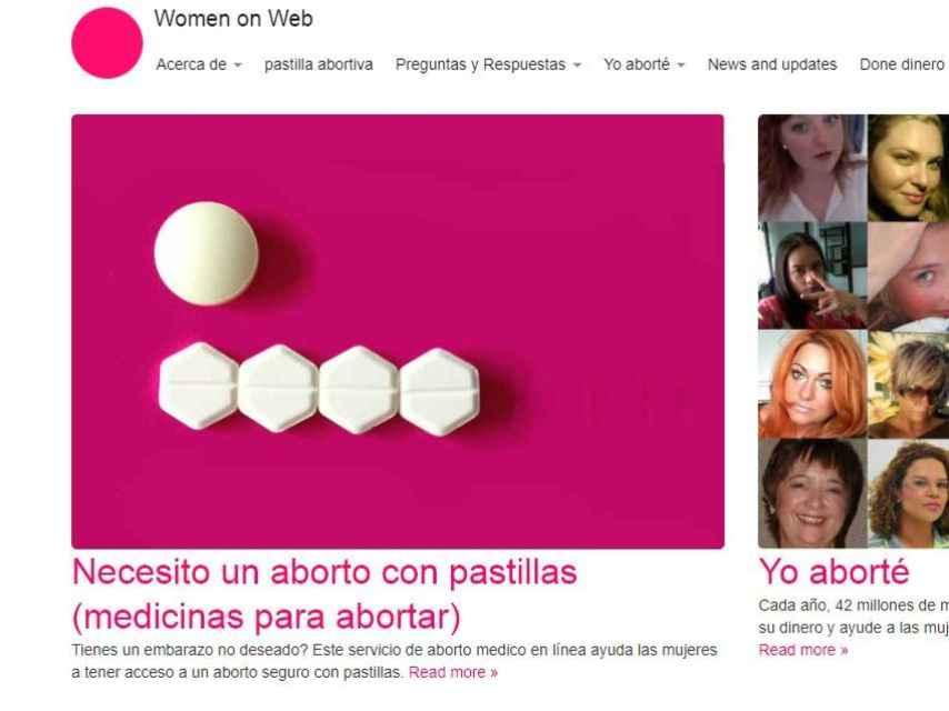 Las pastillas que ofrece Women on Web para abortar por correo.