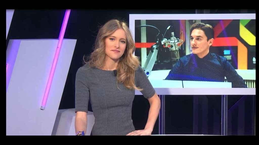 Ingrid Sunyer entrevistando a Xavi Martínez.