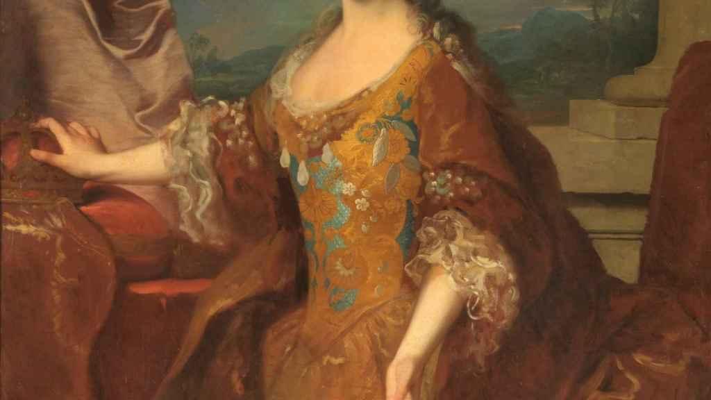 Luisa Isabel de Orléans en un retrato de Jean Ranc.