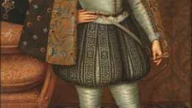 Retrato de Jacobo I de Inglaterra atribuido a John de Critz.