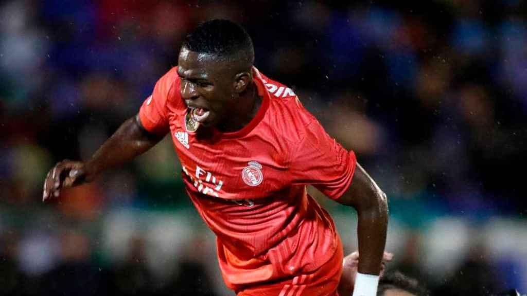 Vinicius, en su debut ante el Melilla