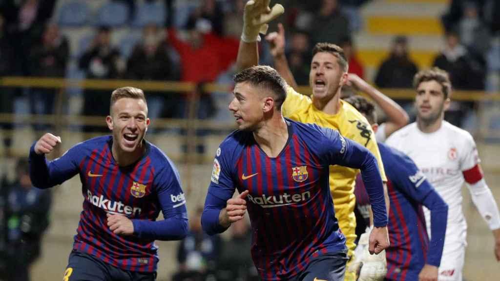 CULTURAL LEONESA - FC BARCELONA