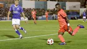 Vinicius en el Melilla - Real Madrid