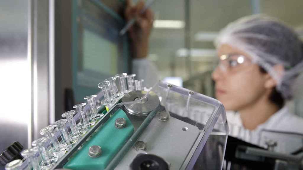 Imagen del centro de packaging de GSK en Rosia (Italia).
