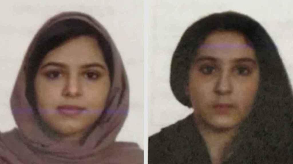 Rotana Farea, de 22 años, y Tala Farea, de 16.