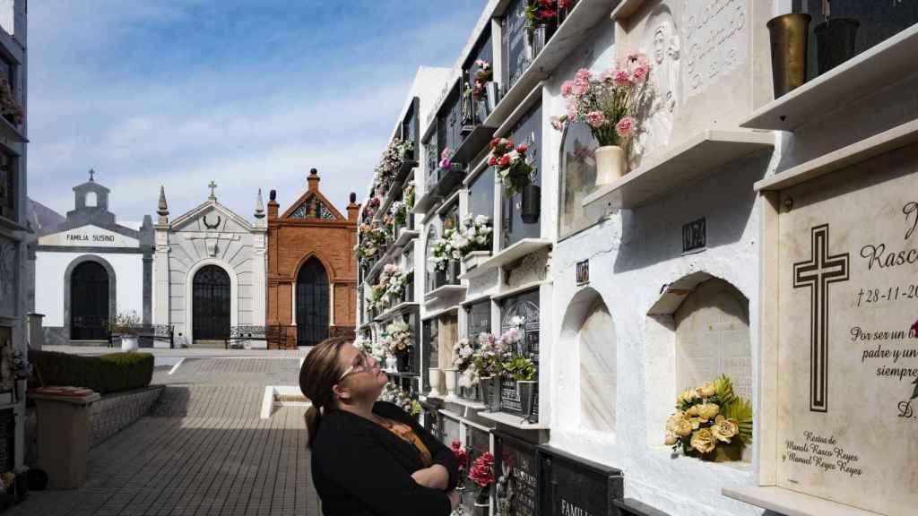 La onubense Blanca Morales perdió a su hermana María del Pilar por un ictus.