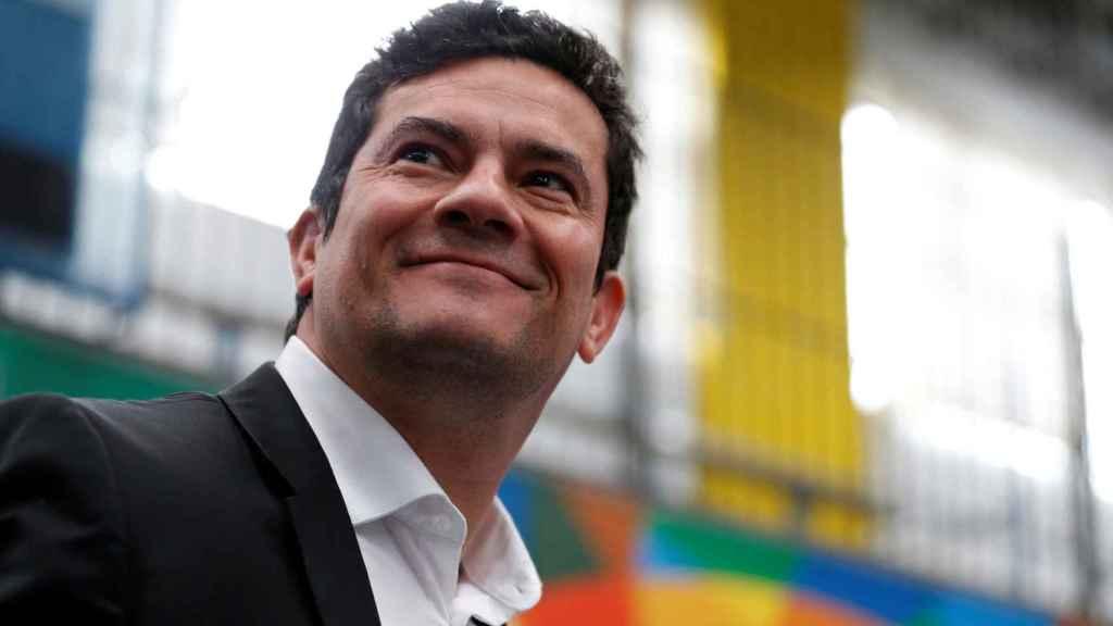El juez Sergio Moro.