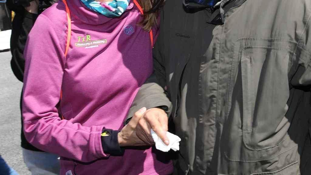 Durante estos dos años Elia, la hija del exalcalde, ha sido un gran apoyo para Julián Muñoz.