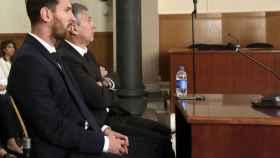 Messi y su padre, en los tribunales