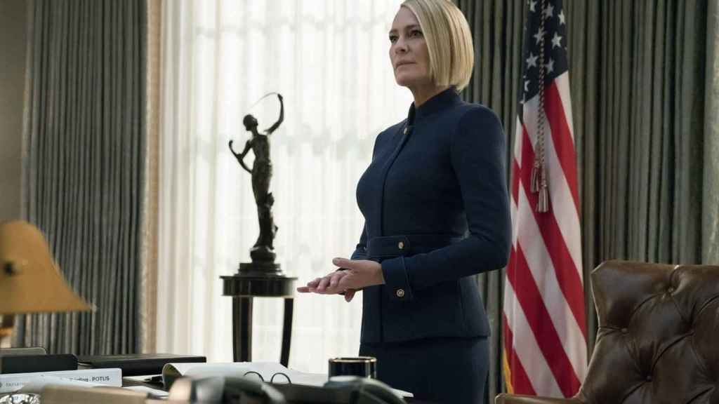 Claire Underwood (Robin Wright) es la nueva presidenta de EEUU en 'House of Cards'