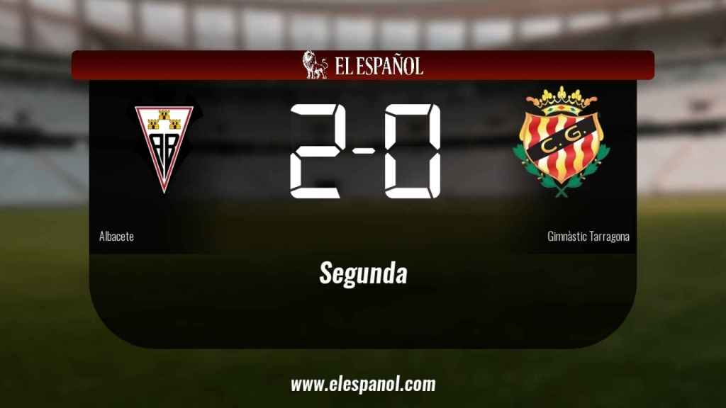 Los tres puntos se quedaron en casa: Albacete 2-0 Gimnàstic Tarragona