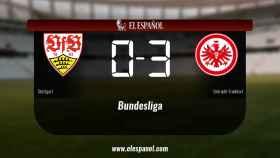 El Stuttgart cae derrotado ante el Eintracht Frankfurt por 0-3