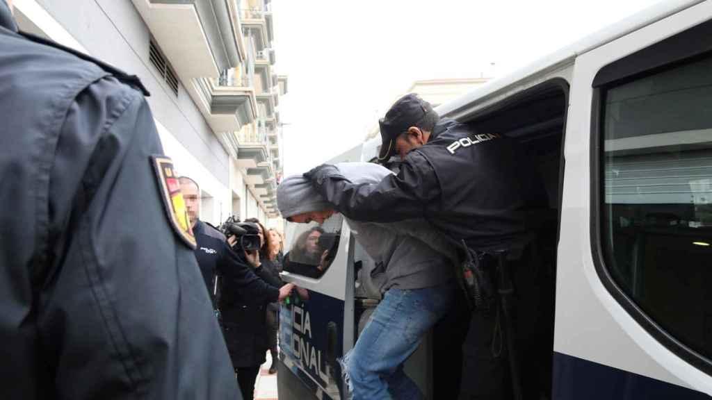 Los detenidos por su implicación en la muerte del agente de la Guardia Civil en Don Benito