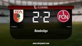 El Nürnberg saca un punto al FC Augsburg en su casa 2-2