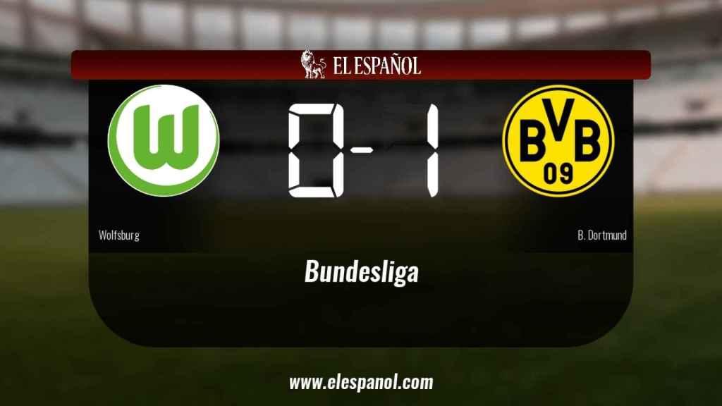 El Wolfsburg 0-1 Borussia Dortmund