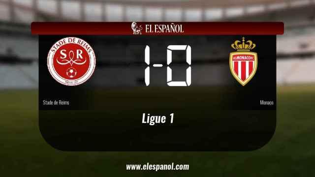 El Stade de Reims ganó en su estadio al Monaco