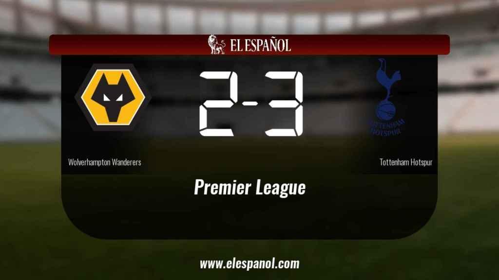 El Tottenham Hotspur ganó en casa del Wolverhampton Wanderers