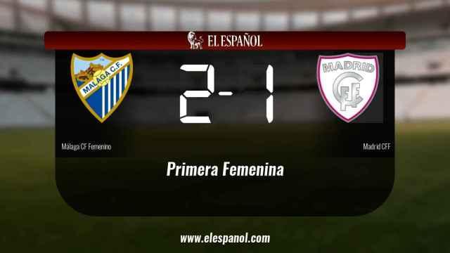 Los tres puntos se quedaron en casa: Málaga 2-1 Madrid CFF