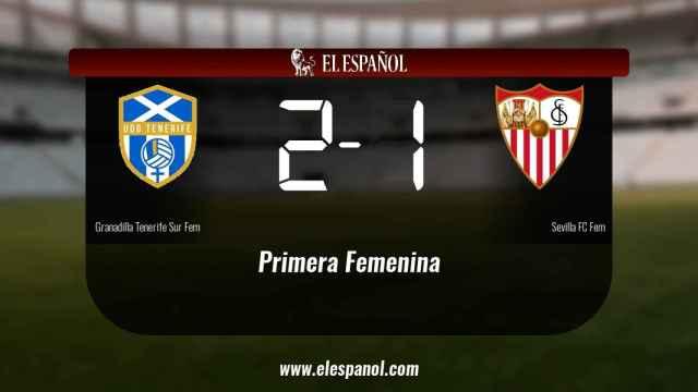 El Granadilla Tenerife Egatesa derrota en casa al Sevilla por 2-1