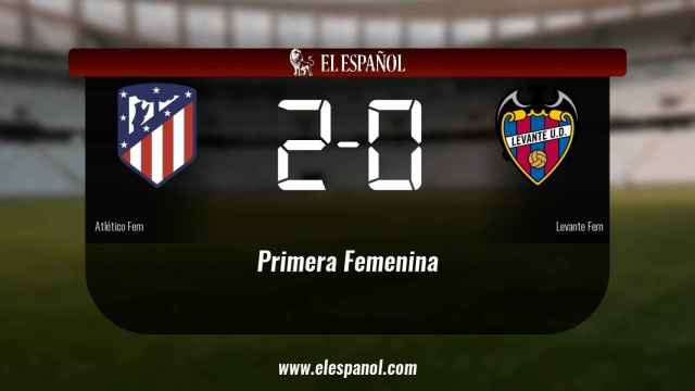 El Atlético de Madrid Femenino se lleva la victoria en su casa al ganar al Levante