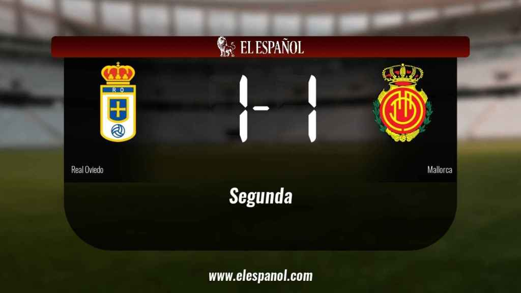 El Real Oviedo y el Mallorca empatan (1-1)