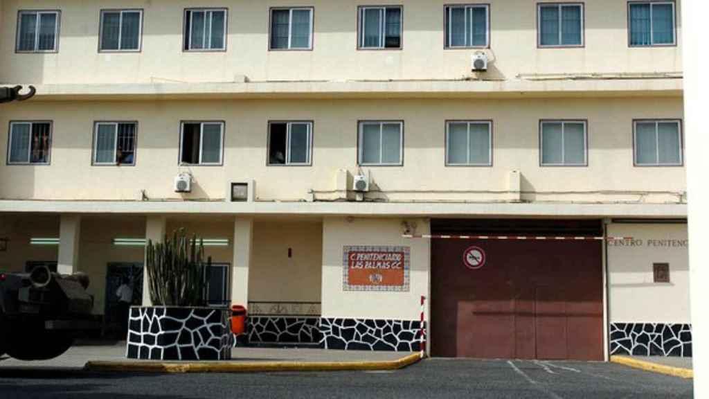 Fachada de la prisión de Salto del negro, en Gran Canaria.