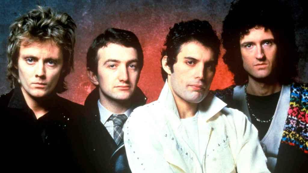 La banda británica en 1979, año que recaló en España por segunda vez