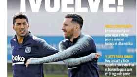 La portada del diario Sport (05/11/2018)