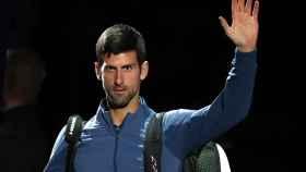 Djokovic, en el Masters 1000 de París-Bercy.