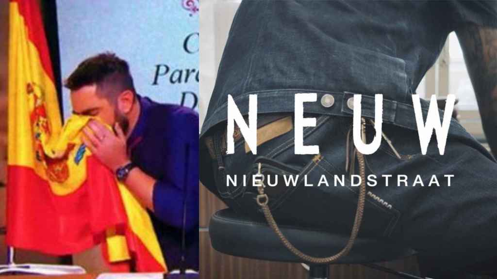 Dani Mateo y la firma de ropa Neuw Denim
