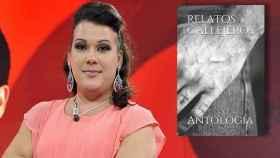 Desy 'GH 14' y la portada de su libro en un montaje de Jaleos.