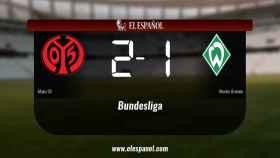 Triunfo del Mainz 05 por 2-1 frente al Werder Bremen