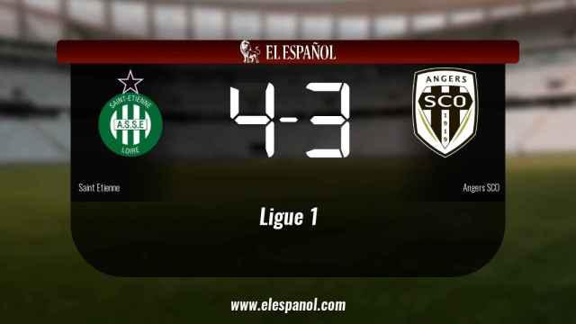 El Saint Etienne gana en el Stade Geoffroy-Guichard al Angers SCO