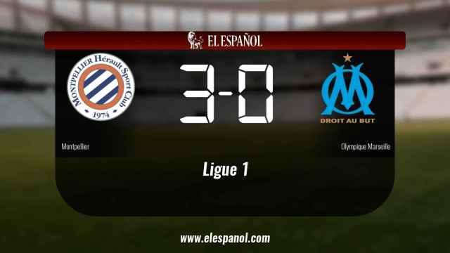 El Montpellier venció en su estadio al Olympique Marseille