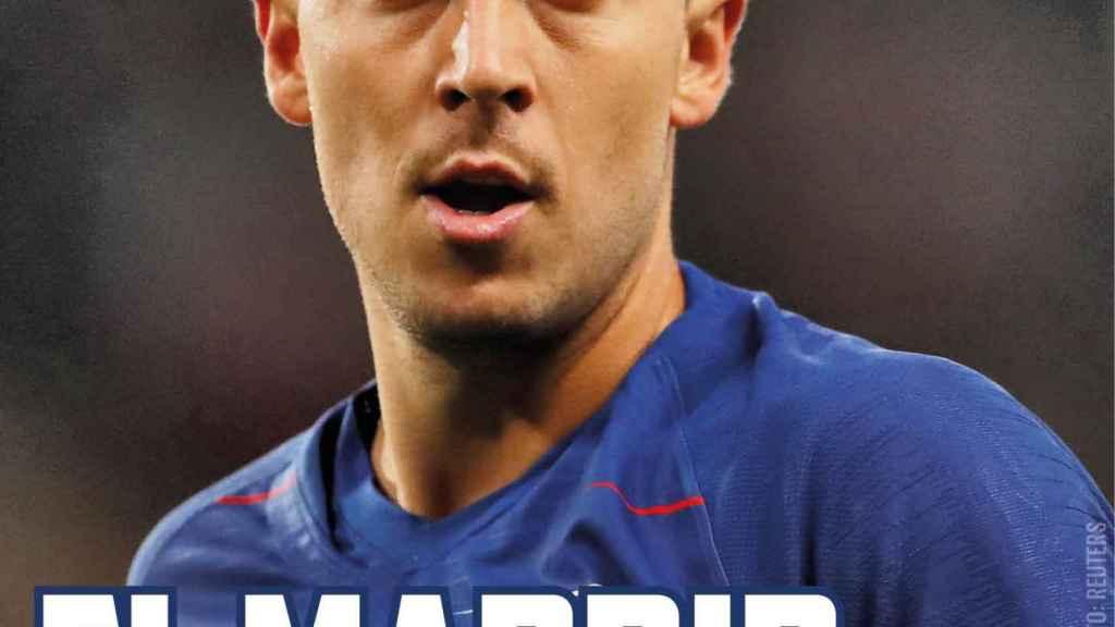 La portada de El Bernabéu (06/11/2018)