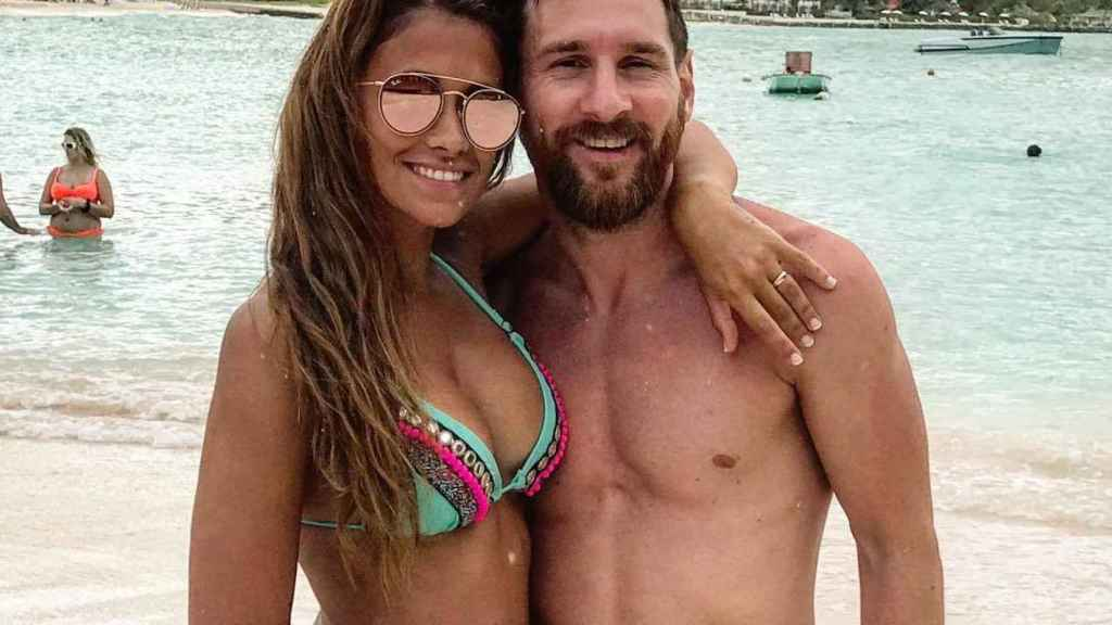 Antonella Roccuzzo, la mujer de Leo Messi