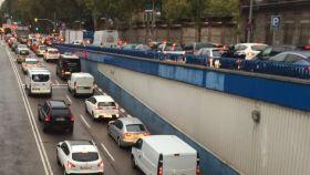 Atascazo en Madrid: cuatro túneles cerrados y cinco accidentes colapsan las carreteras por la lluvia